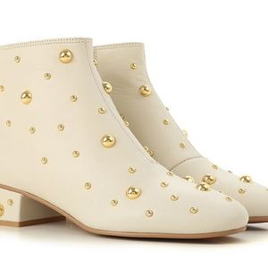 See By Chloé Abby Studded Leather 7.5 New
